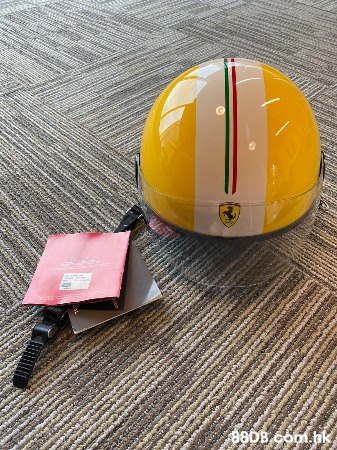 Ferrari Official Licensed Product Helmet