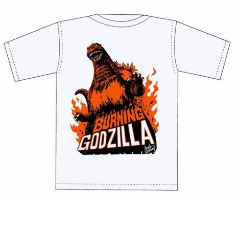 售限量正版西川伸司紅蓮哥斯拉T Shirt