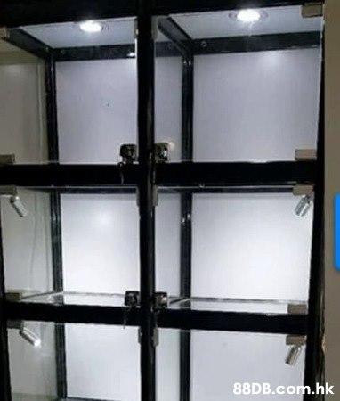 訂做任何尺寸展示櫃模型玩具鍾錶手袋首飾全鋼化玻璃射燈展示櫃