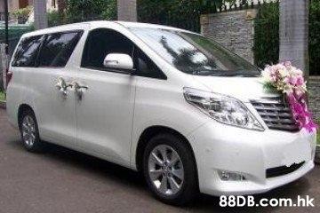 租車連司機服務 / 租商務七人車 / 租結緍車花車連司機