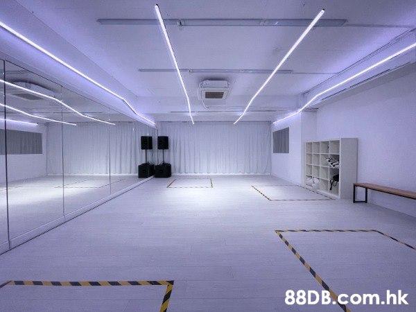 Dance Cover 拍攝專用 LED個人化燈效 純白 拍攝場地鏡房租用