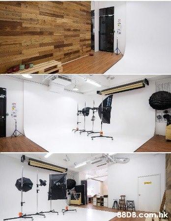 --- ARTE  BLANCO  STUDIO --- 葵涌區 14.9尺 特高樓底 L型 CYCLORAMA 影樓出租